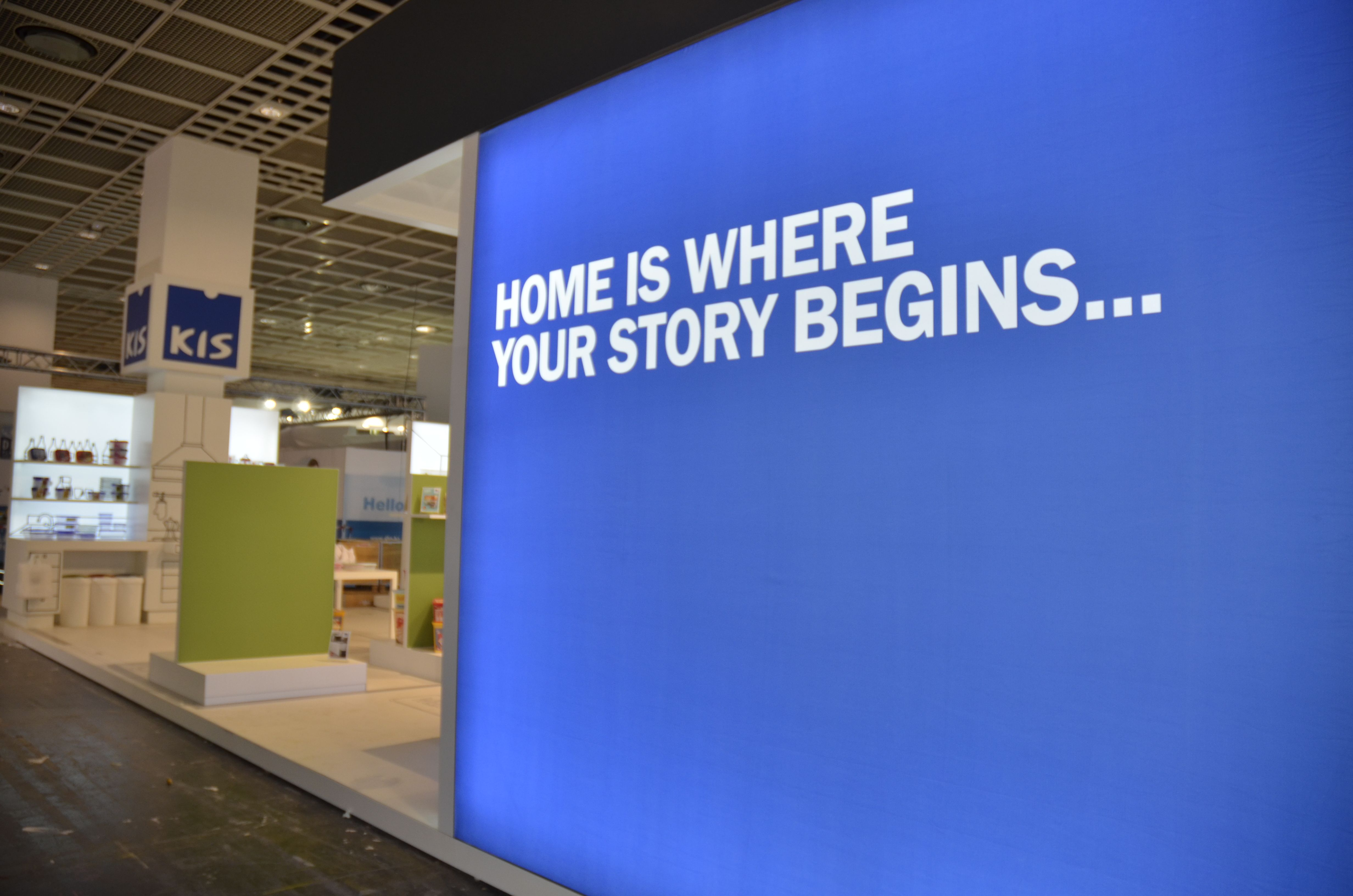 """""""Kis: home is where your story begins"""" Ambiente Fair 2015."""