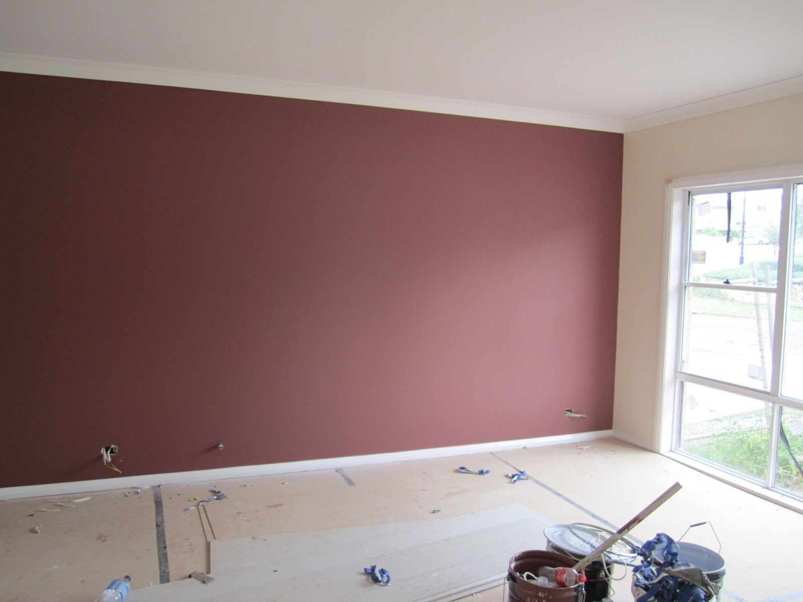 Formal Living Room Feature Wall