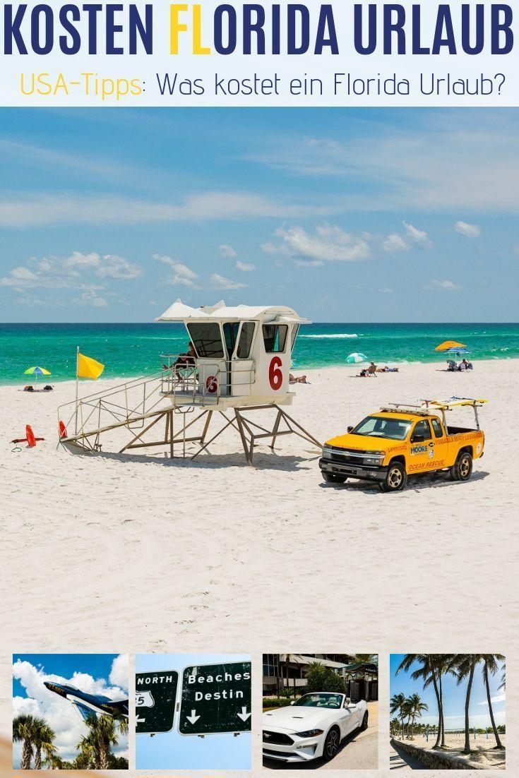 Kosten Florida Urlaub Was kosten 3 Wochen Florida? (mit