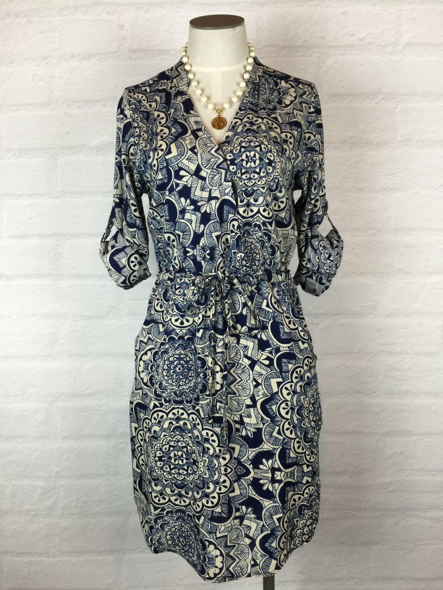 Spirals Shirt Dress