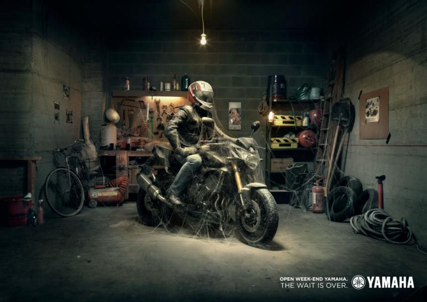 Yamaha - The wait is over. DLV BBDO, Milan