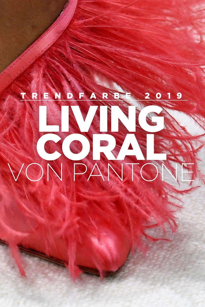 Offiziell Trendfarbe 2019 Das Ist Living Coral Von Pantone Mode
