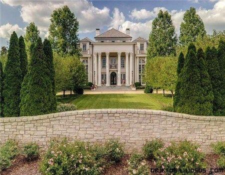 Mansiones con jardines de lujo magnaat pinterest - Jardines de casas de lujo ...
