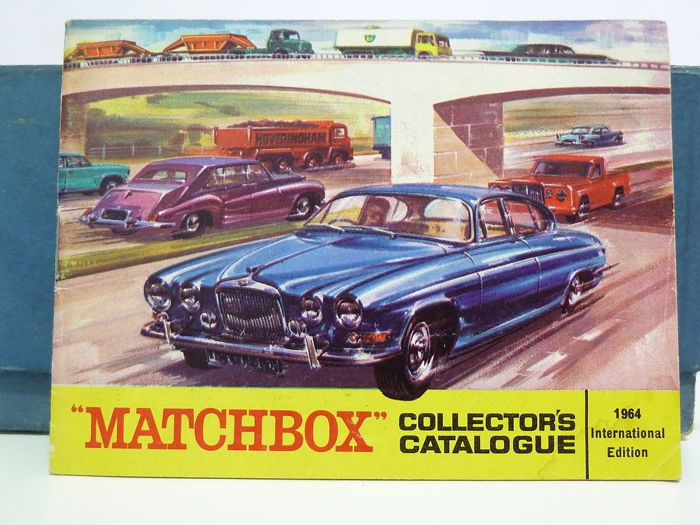 MATCHBOX 1964 CATALOGUE, INTERNATIONAL EDITION, FREE