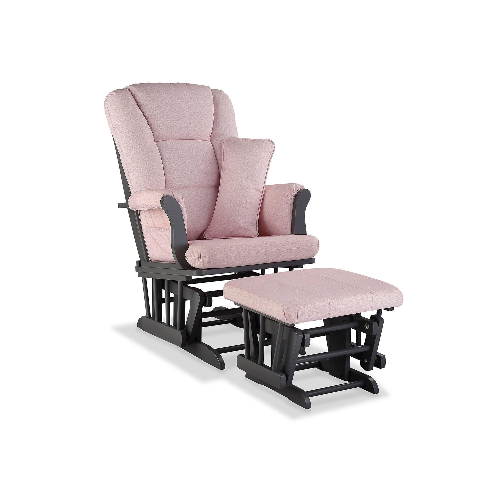 Storkcraft Tuscany Custom Glider Chair And Ottoman Set Glider