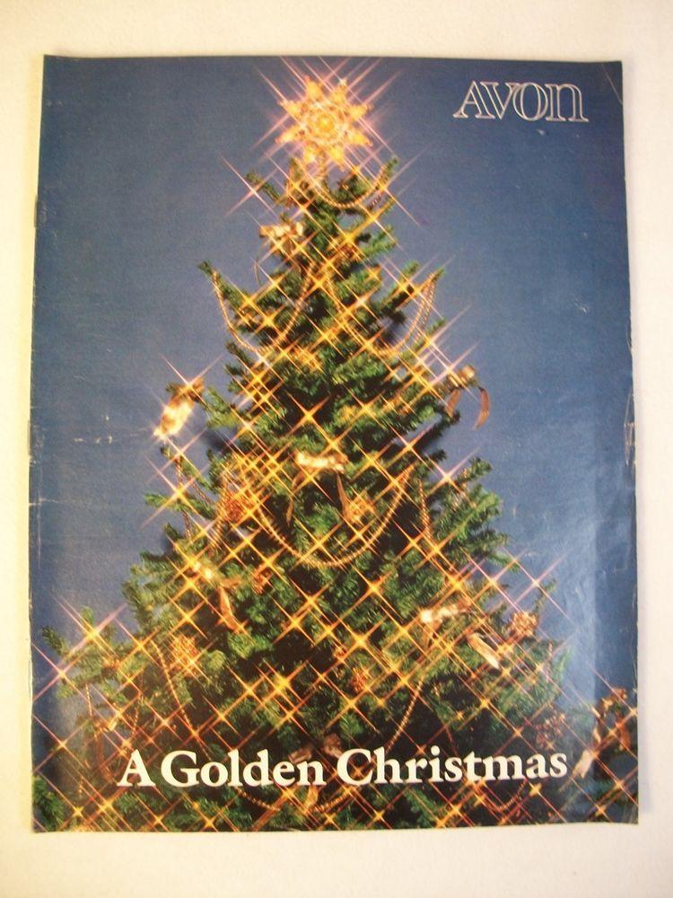 AVON 1981 VTG LARGE CHRISTMAS CATALOG CAMPAIGN #24 FRAGRANCES