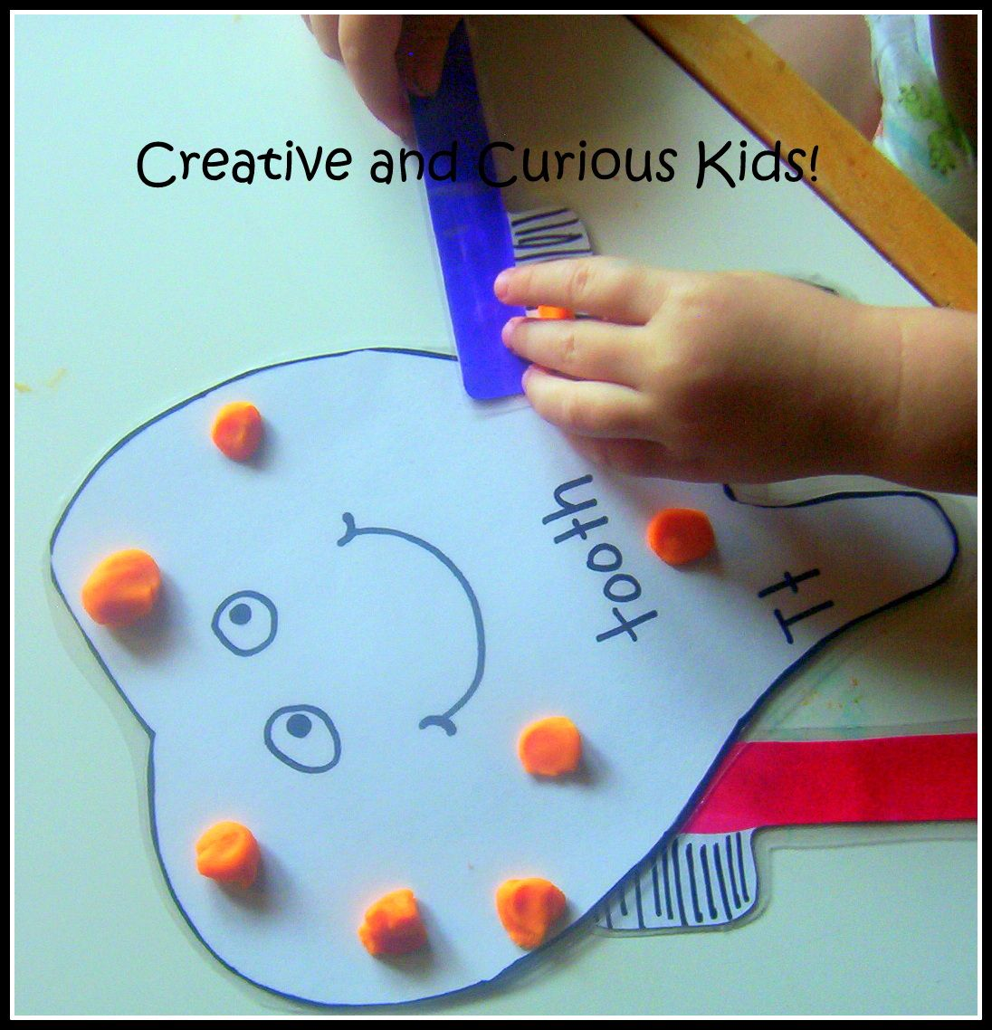 Letter T Activities With A Tooth Theme Such As Brushing
