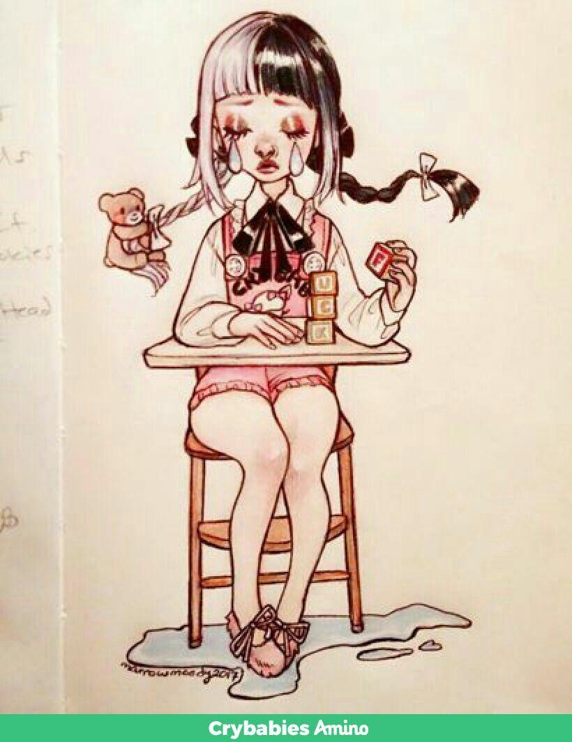 from artist marrow moody on crybaby amino