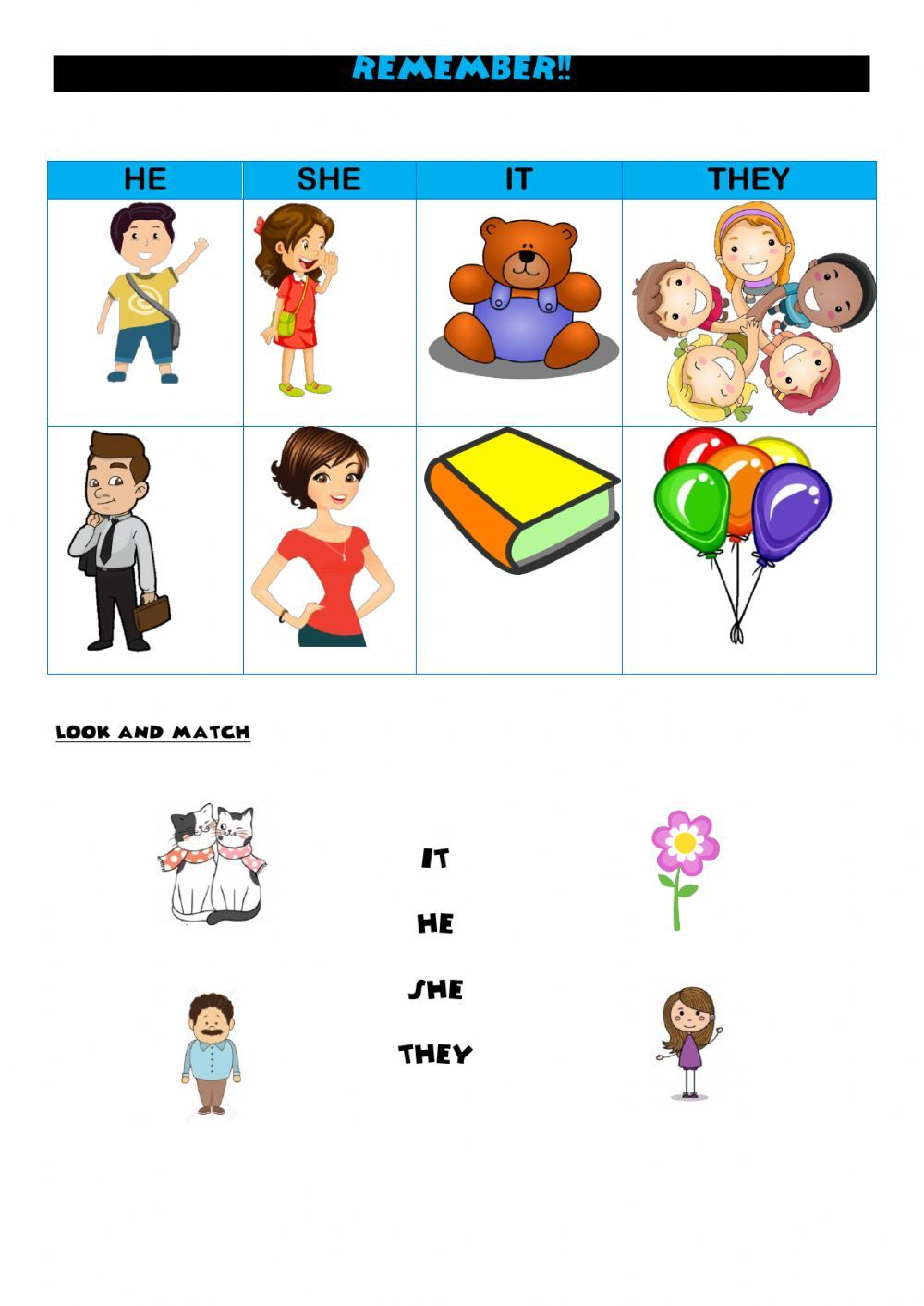 Subject Pronouns Online Worksheet For Primaria You Can Do The Exercises Onli In 2020 English As A Second Language English As A Second Language Esl Personal Pronouns