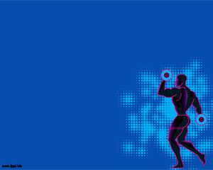 Free fitness powerpoint template is a free violet background for bodybuilder powerpoint template toneelgroepblik Images