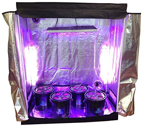 16 Site Hydroponic System Grow Room Complete Grow Tent Kit LED Grow Lights PO455K5U 7RKB29353 u003e & 16 Site Hydroponic System Grow Room Complete Grow Tent Kit LED ...