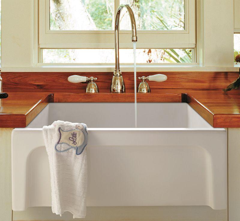 ALFI AB2418ARCHW Images Farmhouse sink kitchen