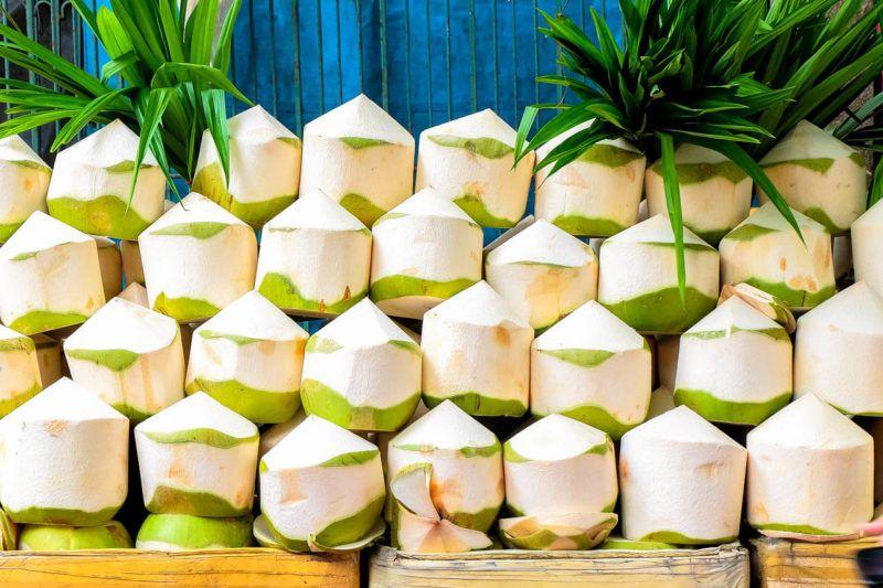 Coconut Shake Recipe How To Make A Thai Coconut Shake Coconut