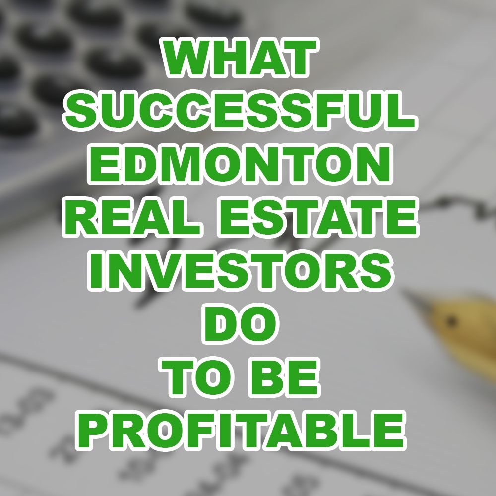 Edmonton real estate investing MLS listings