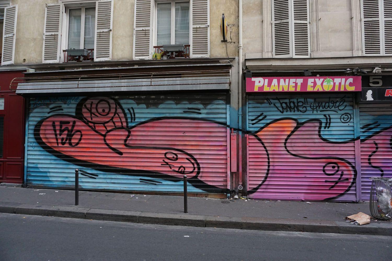 Your graffiti wall - Paris Shutter Graffiti