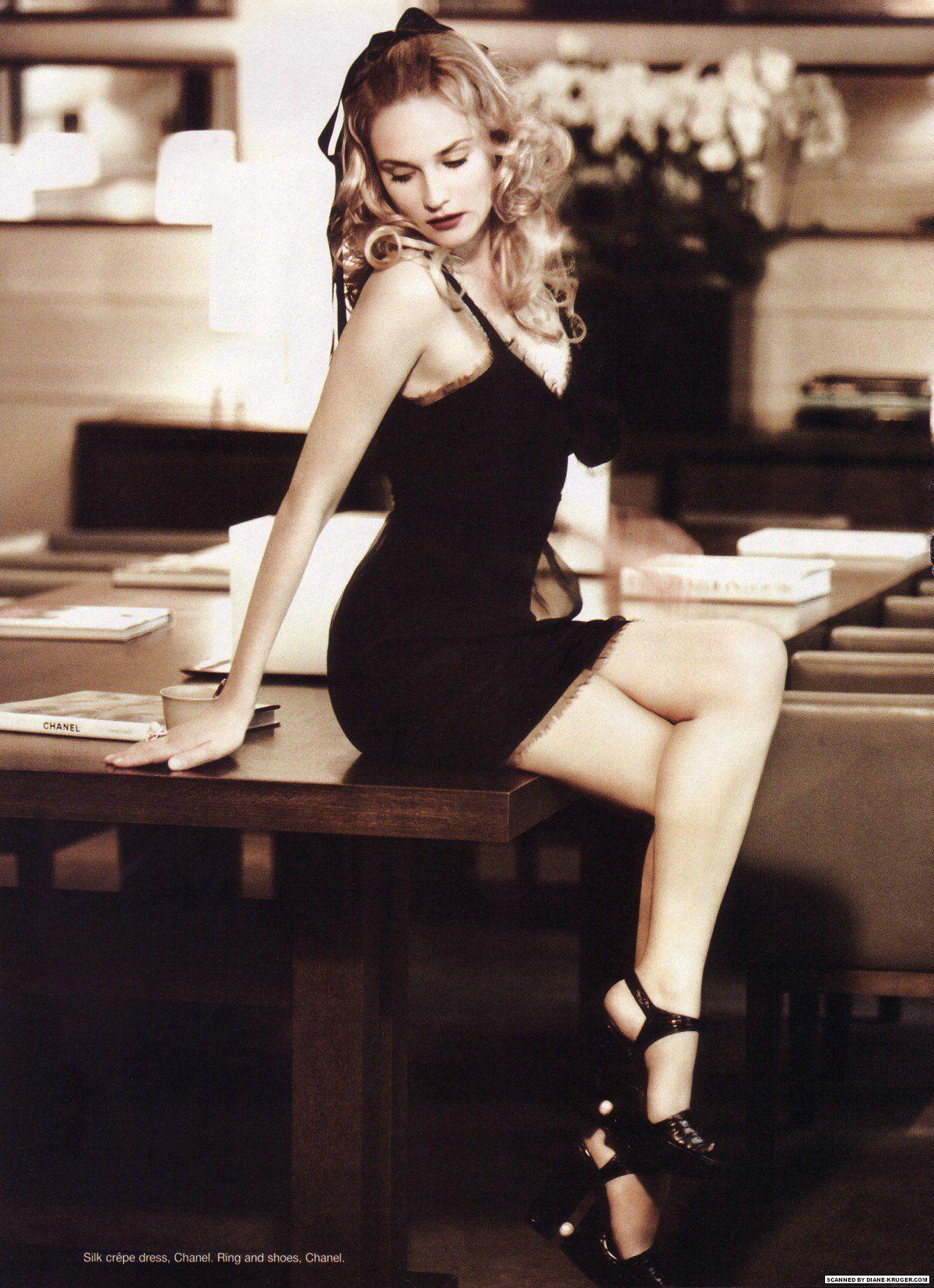 Dianne Kruger   #style #fashion #celebs