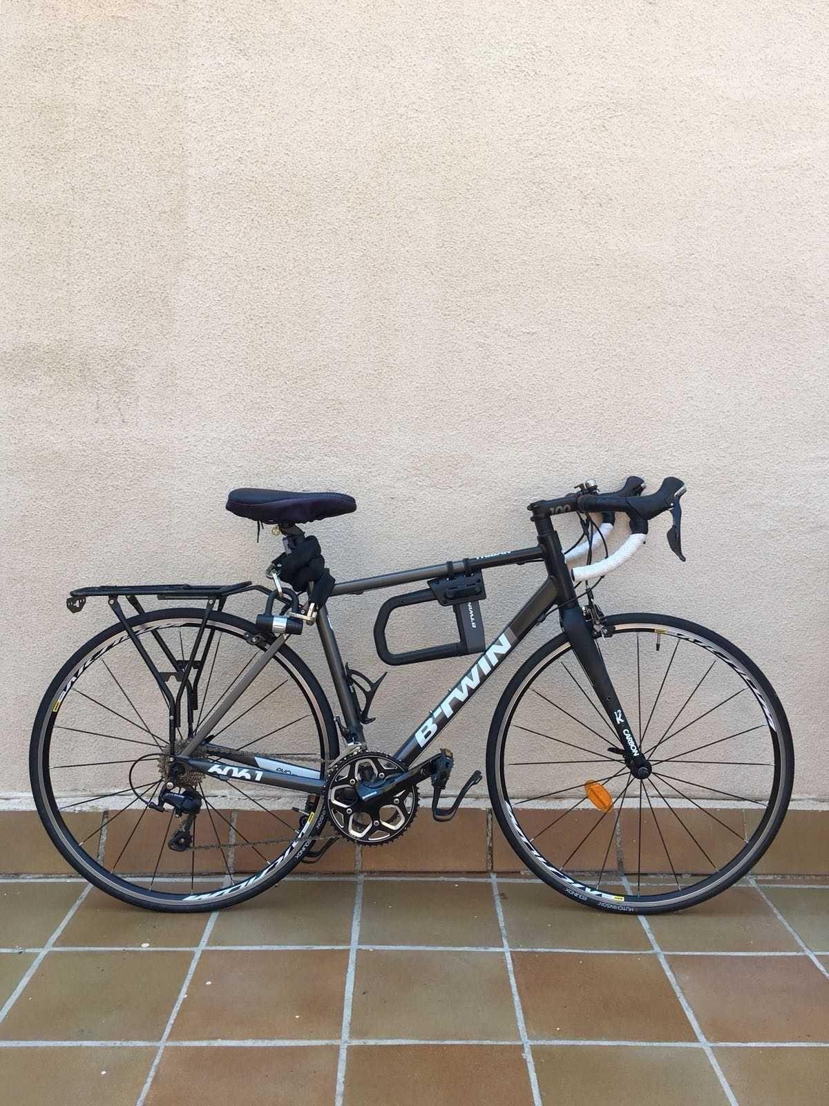 Bicicleta de carretera Btwin Triban 540  Ref: 36907  Talla M  Año