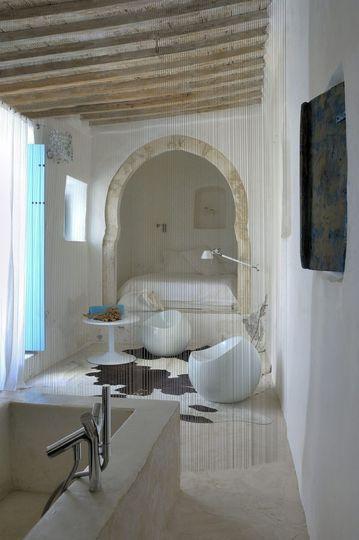 Salle de bains ouverte sur la chambre  9 photos de chambre et salle