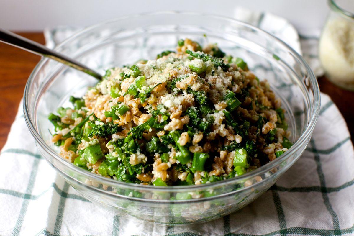 goodfood broccoli rubble farro salad #foodie   Tango Chile Sauce ...