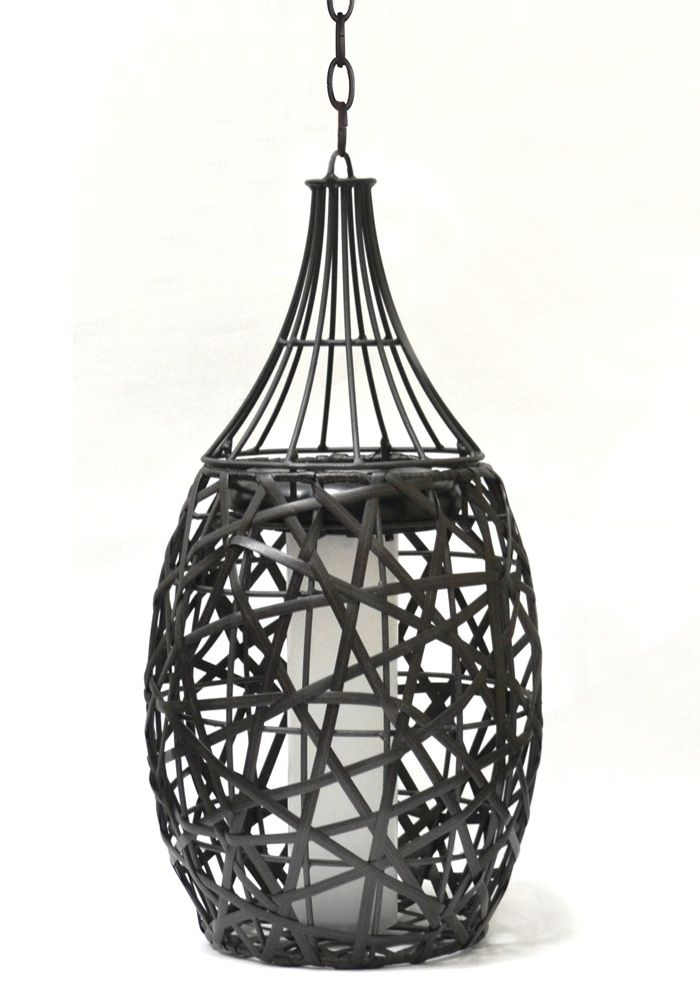 Add Style And Flair To Your Gazebo With This Unique Rattan Look Solar Pendant Light Pendant Light Dream Backyard Light