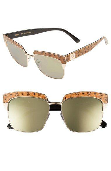 c5c7ade4f64 MCM  Visetos  56mm Retro Sunglasses.  mcm