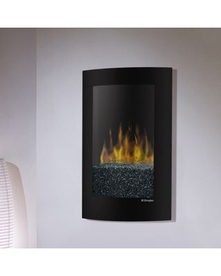 Dimplex Convex Wall Mount Electric Fireplace 320 400 Wall Mount Electric Fireplace Fireplace Black Walls