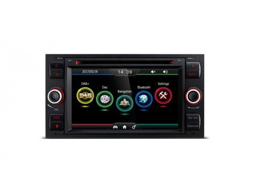 Pdab71fsf S 7 Hd Digital Touch Screen Built In Dab Tuner Custom Fit For Ford Xtrons Co Uk Car Dvd Players Tuner Touch Screen