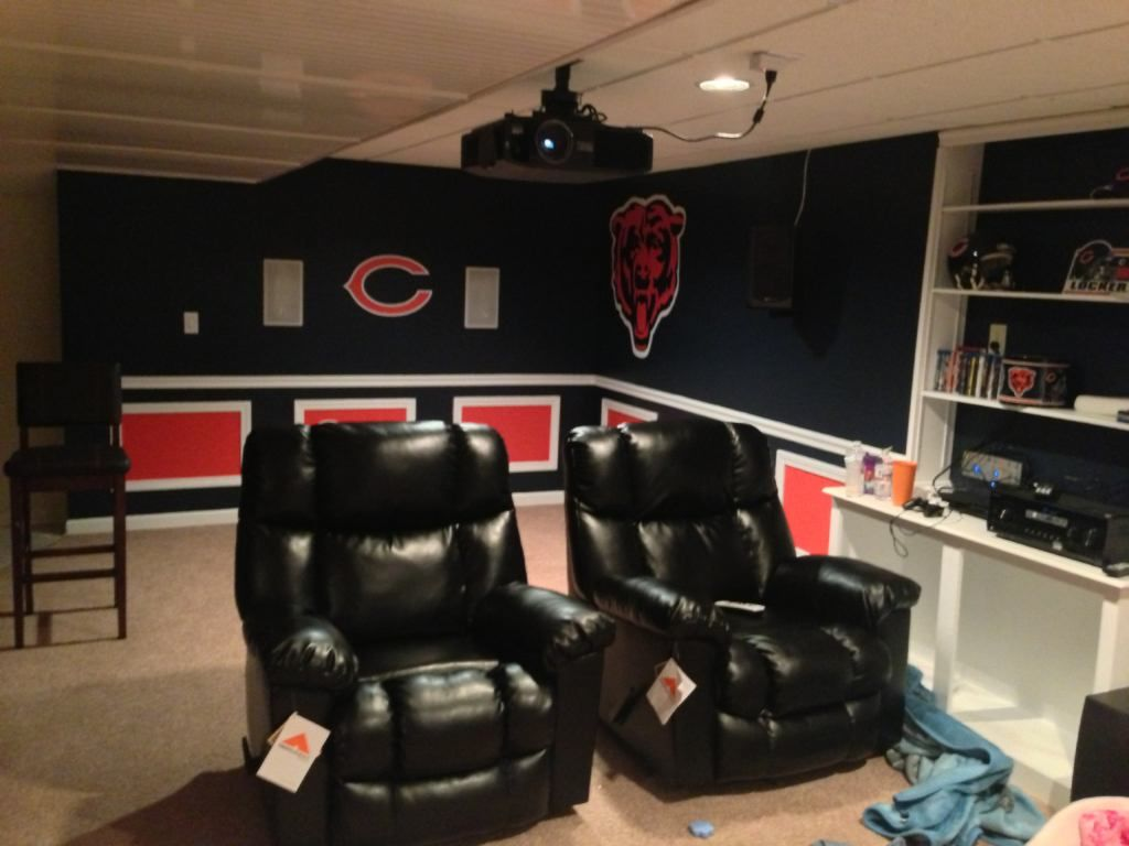Vikings Man Cave Ideas : Close to what i m thinking unfortunately next the