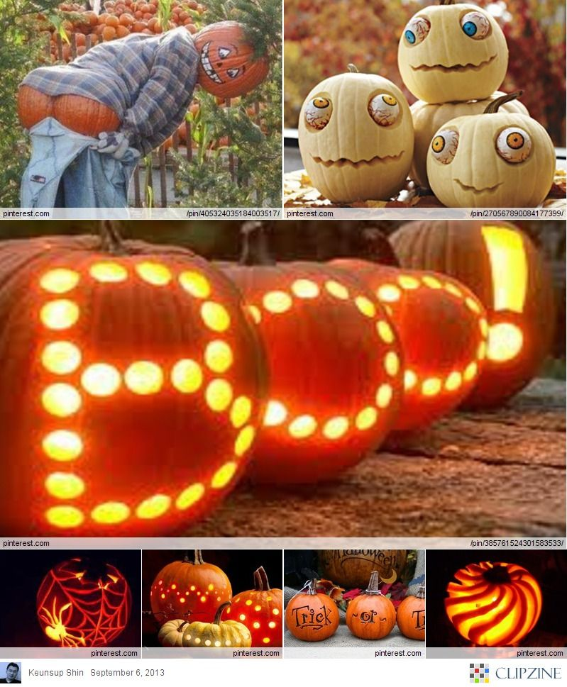 Decorative Pumpkin Ideas  Share your Creative ideas - easy halloween pumpkin ideas
