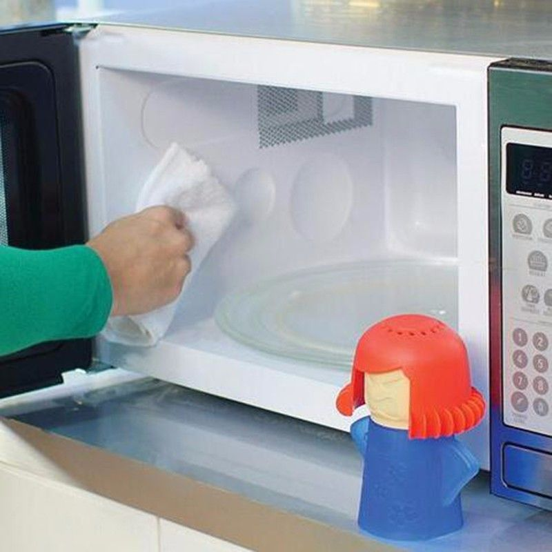 Hot selling angry mama microwave oven steam cleaner with