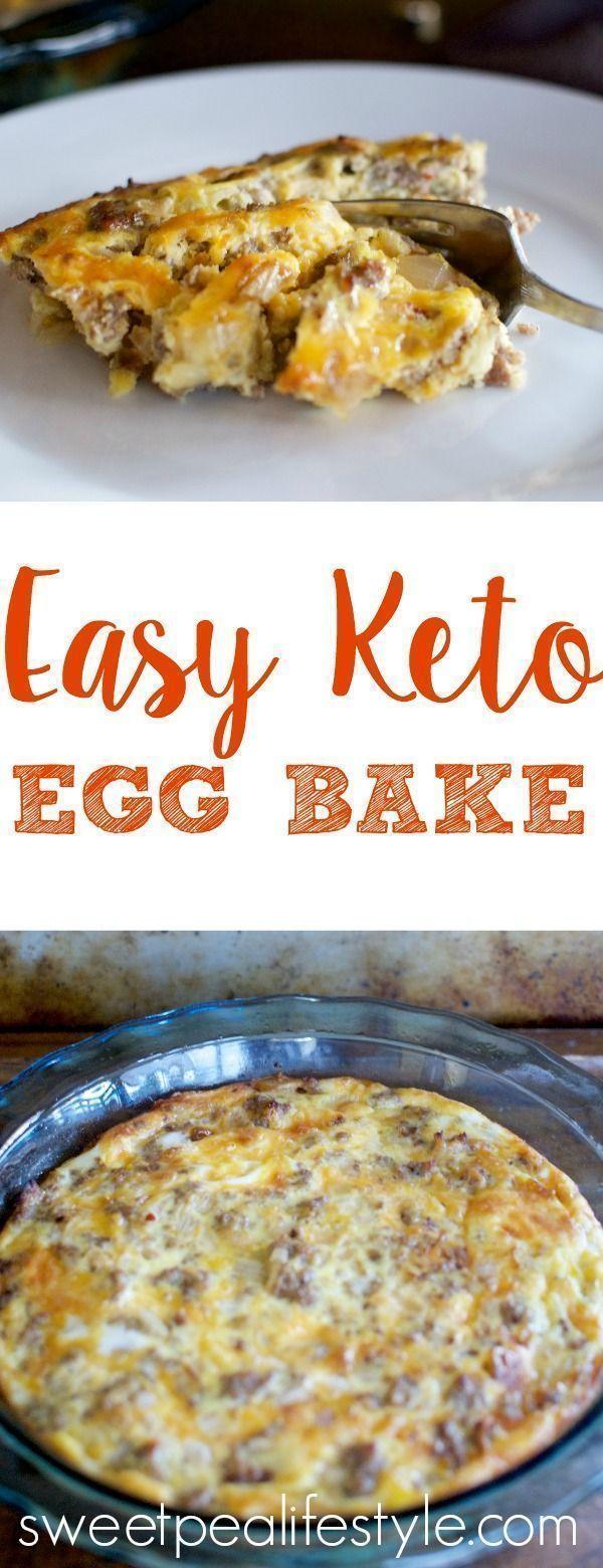 Easy Keto Egg Bake images
