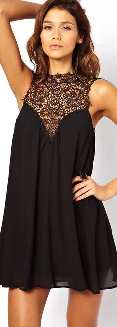 c169aad86ce classy black high neck formal dresses - Google Search