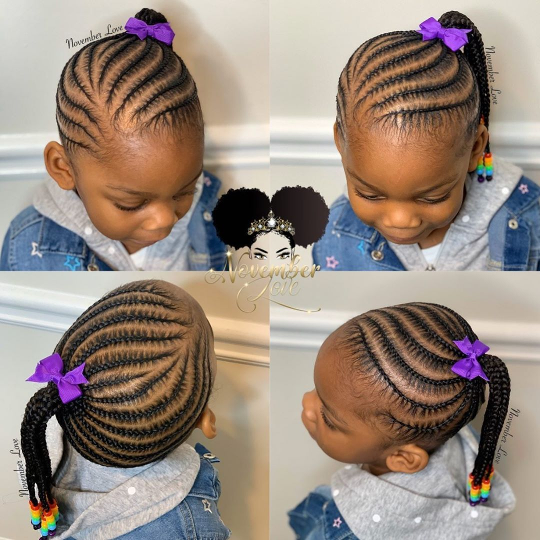 2 043 Likes 7 Comments November Love Novemberlov3 On Instagram Children S Braids And Beads Booking In 2020 Kids Hairstyles Lil Girl Hairstyles Toddler Braids