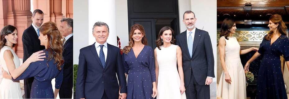 Los Reyes Arrancan Su Visita A Argentina Con Una Cálida Bienvenida De Mauricio Macri Y Juliana Awada Cena De Gala Los Reyes De España Macri