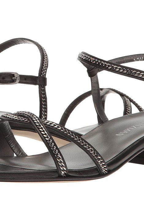Stuart Weitzman Overriding (Black Nappa) Women's Shoes - Stuart Weitzman, Overriding, OVERRIDI-001, Footwear Open General, Open Footwear, Open Footwear, Footwear, Shoes, Gift - Outfit Ideas And Street Style 2017