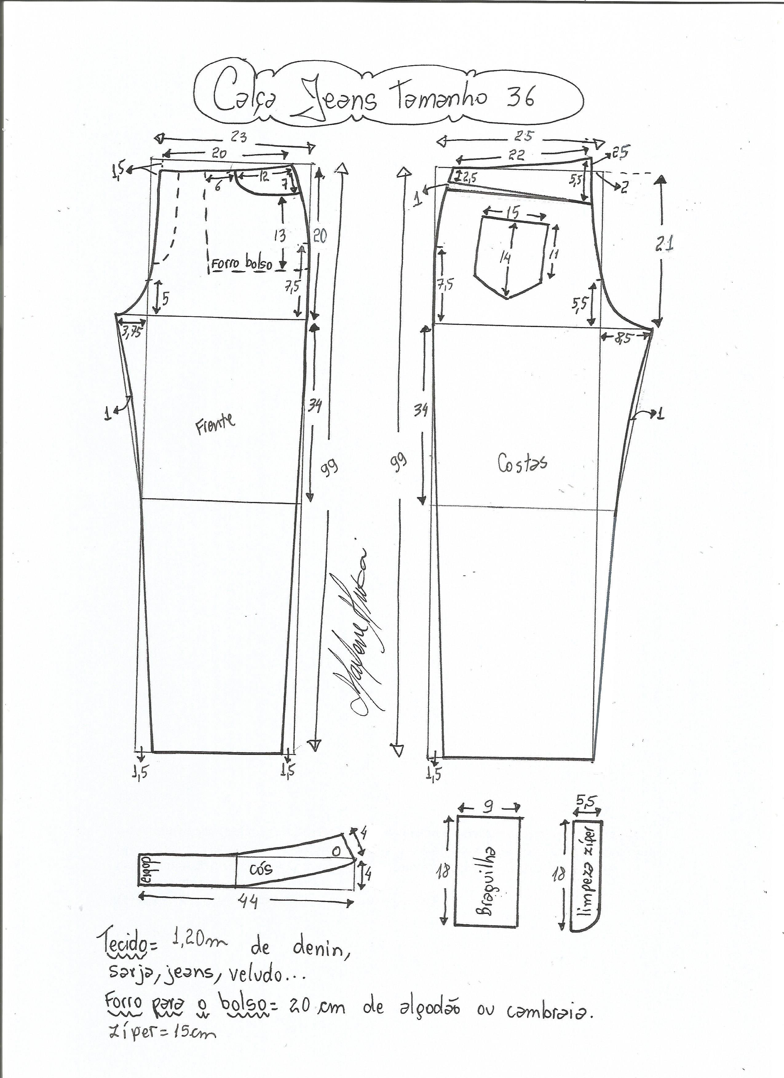Pin de Isabel Caballero en patrones de costura | Pinterest ...