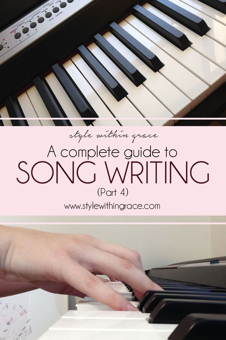 A Complete Guide to Song Writing (Part 4) Songs, Singing