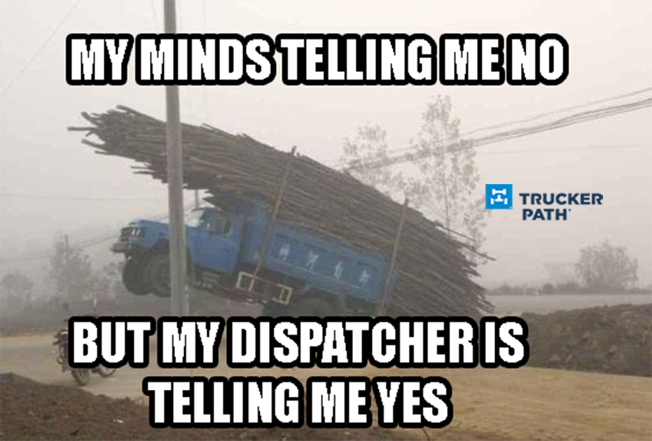 be58c1e8aedc7d68e122d513a95d8c50 truckers doing whatever it takes to do the job www truckerpath com