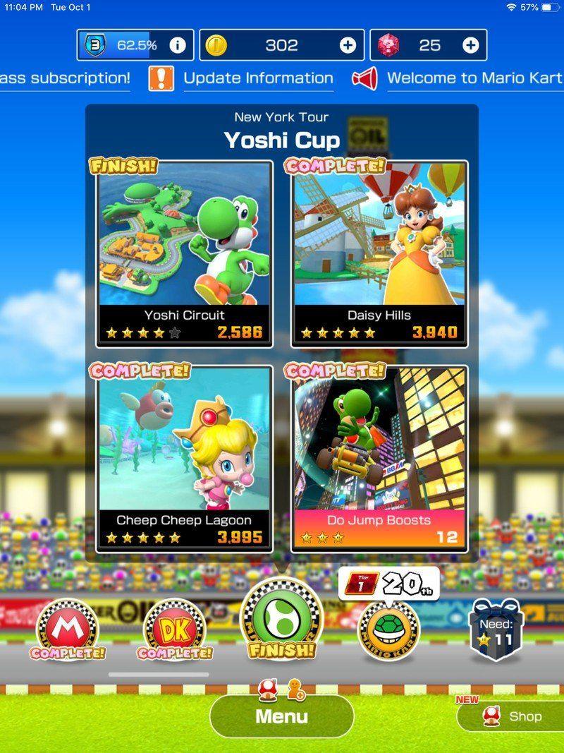 Does Mario Kart Tour sync with Mario Kart 8 Deluxe on