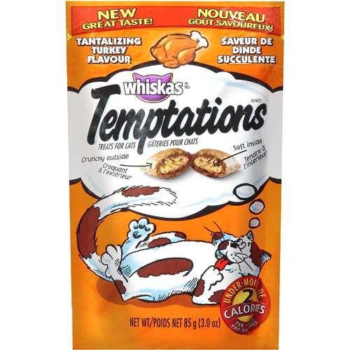 Whiskas Whiskas Temptations Tantalizing Turkey Flavor