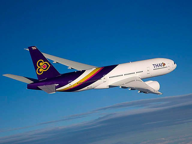 Thai Airways retourne à Moscou en décembre