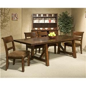 Room Intercon Bench Creek Dining Set At DAWS Home Furnishings In El Paso TX