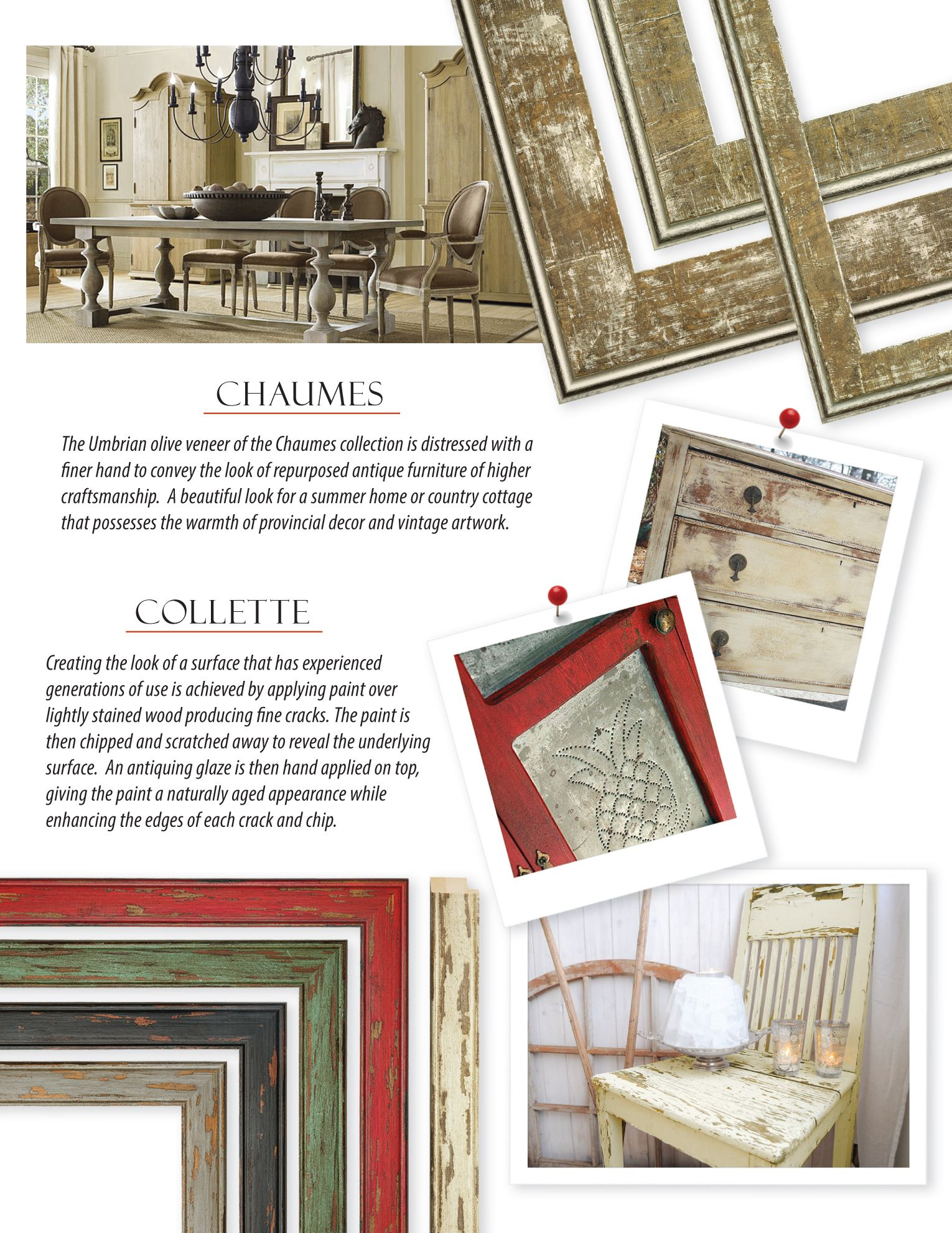 New Custom Picture Frame Collections from Omega Moulding. | Picture ...