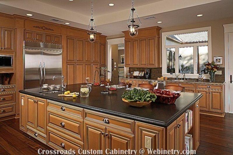 Top 25 ideas about kitchen designs on Pinterest | Oak cabinets ...
