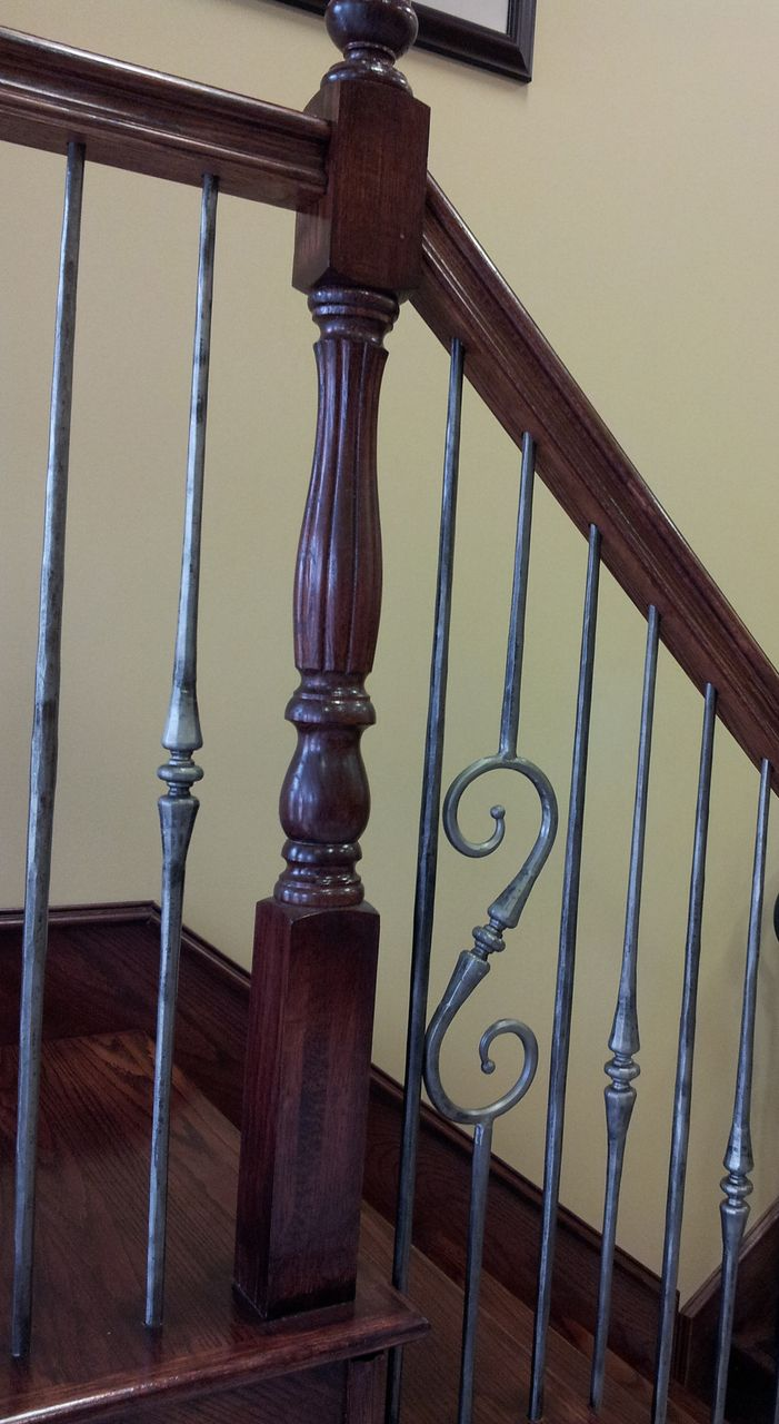 Best This Staircase Pattern Features Balusters From The Tuscan 640 x 480