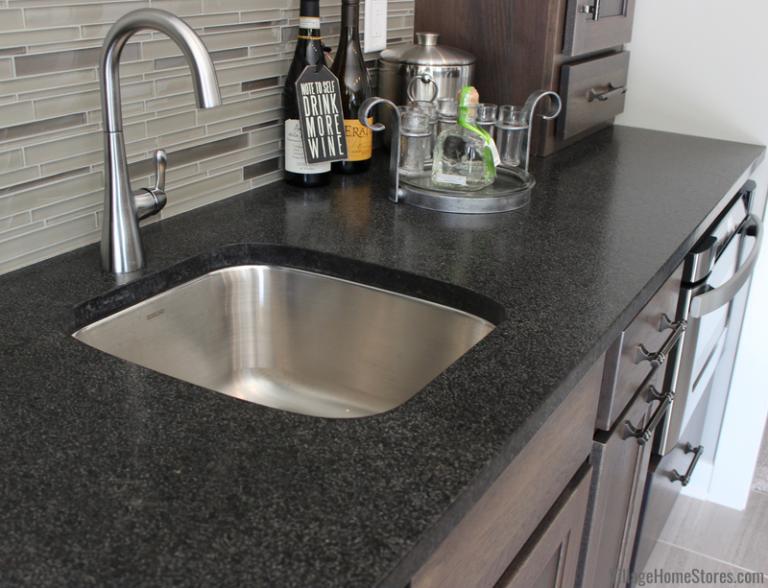 Black Pearl Granite Counters In Brushed Finish Wet Bar Black Pearl Granite At Home Store