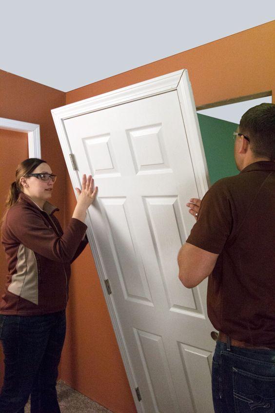 Installing An Interior Single Door With Split Jamb Single Doors Split Door Installation