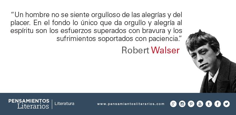Robert Walser. Sobre el espíritu del hombre.