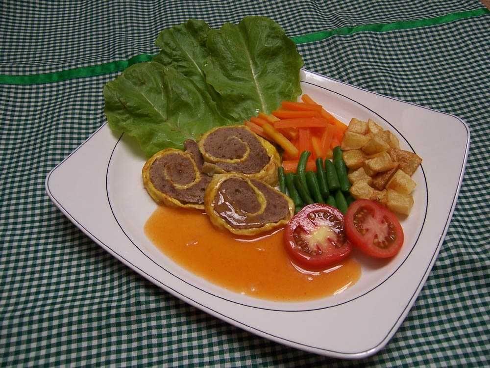 Resep Rolade Daging Sapi Resep Sederhana Daging Sapi Resep Daging