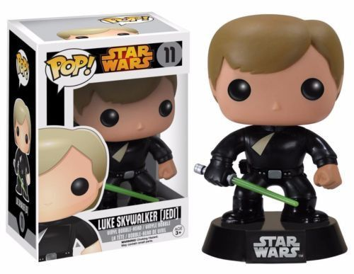 Funko Pop Star Wars Luke Skywalker Jedi Vinyl Action Figure 11 Big Game Vendor Funko Pop Star Wars Luke Skywalker Funko Pop Pop Vinyl Figures